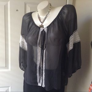 HAVE Sheer Blouse
